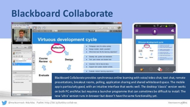 blackboard collaborate launcher essay The blackboard collaborate launcher is a utility for windows and mac it  provides a convenient and reliable way for you to launch your blackboard  collaborate.