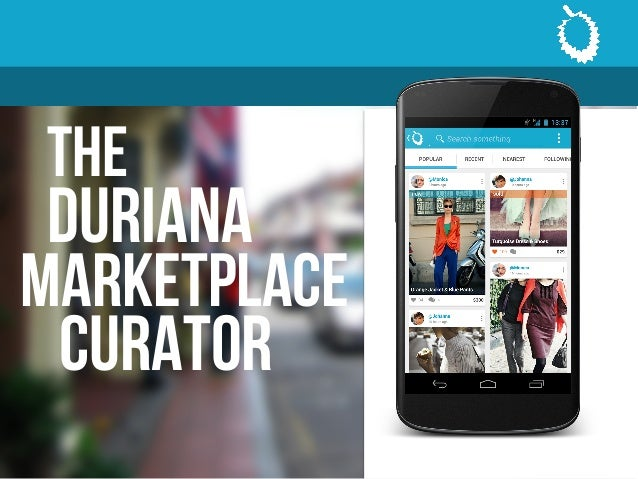The duriana curator marketplace