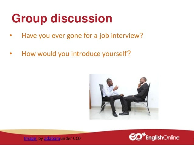 introduce yourself interview