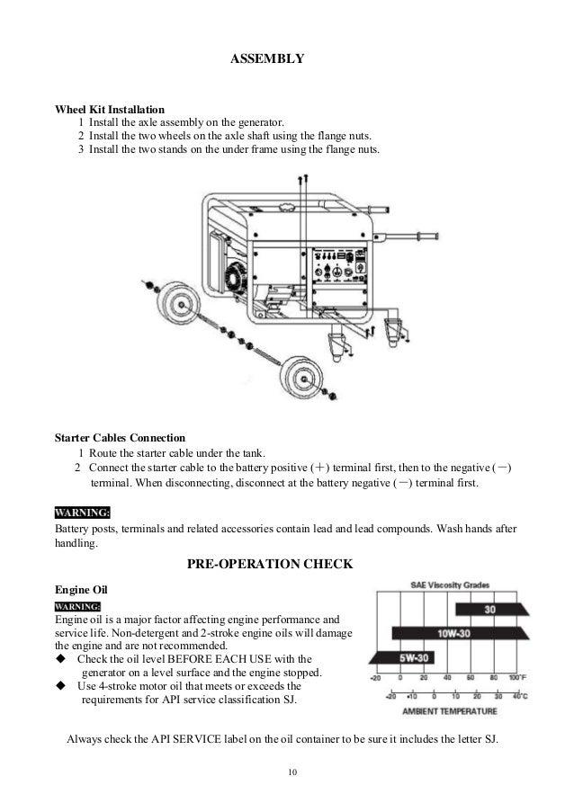 generator oil diagram duromax xp10000e generator owners manual  duromax xp10000e generator owners manual