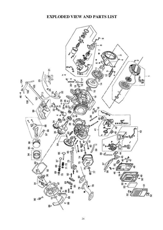 honda g400 parts diagram