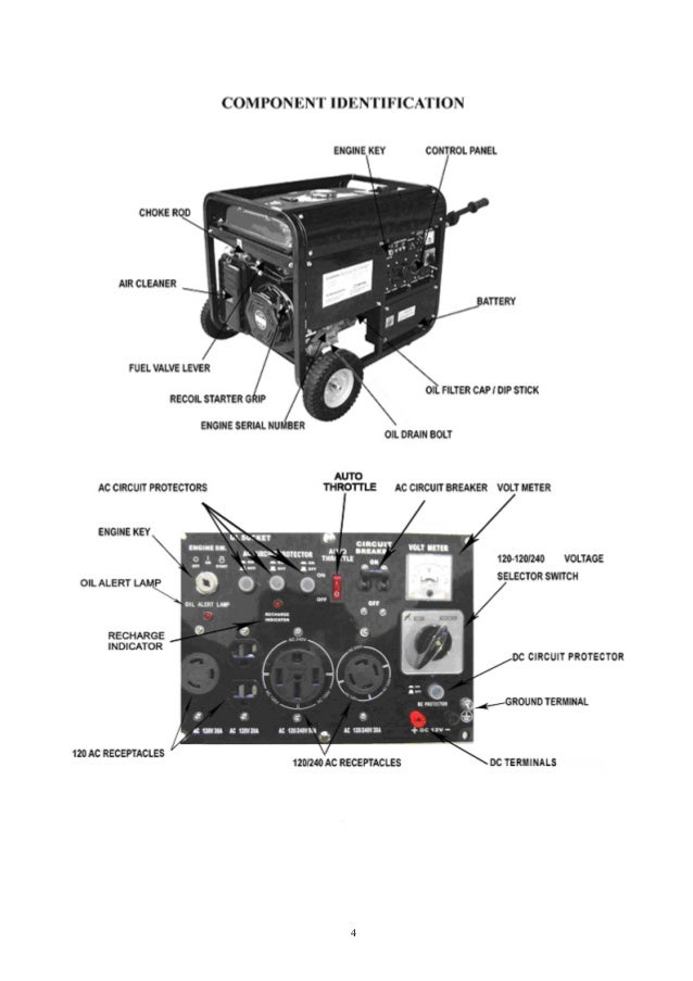 duromax xp10000e generator owners manual 4 6