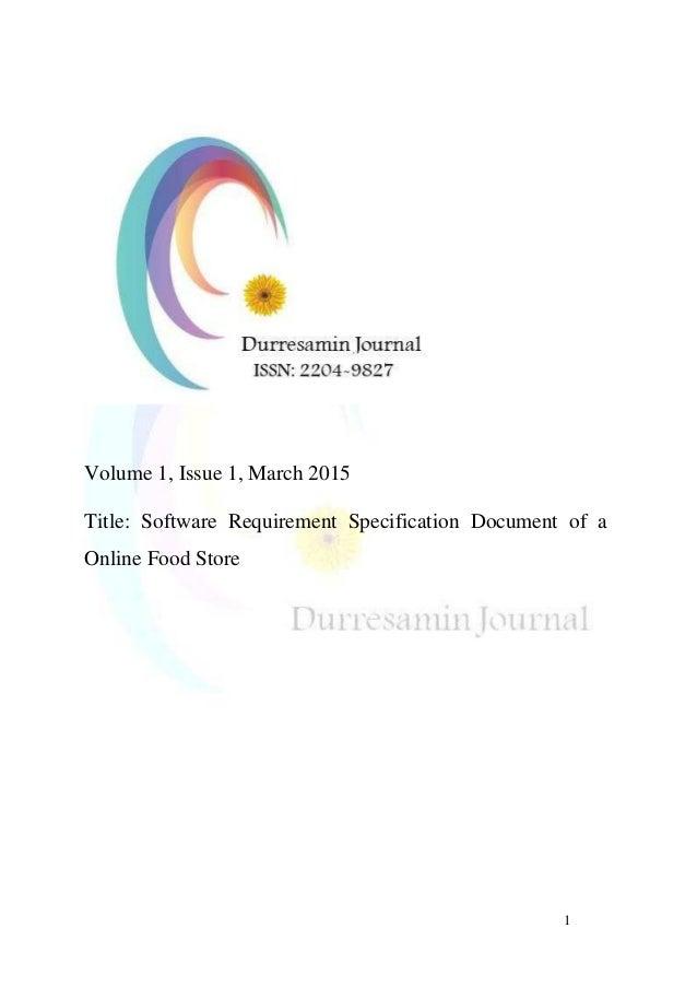 Durreesamin Journal Vol1 Issue1 March 2015