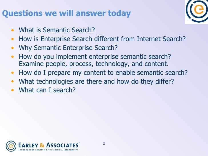 Implementing Semantic Search Slide 2