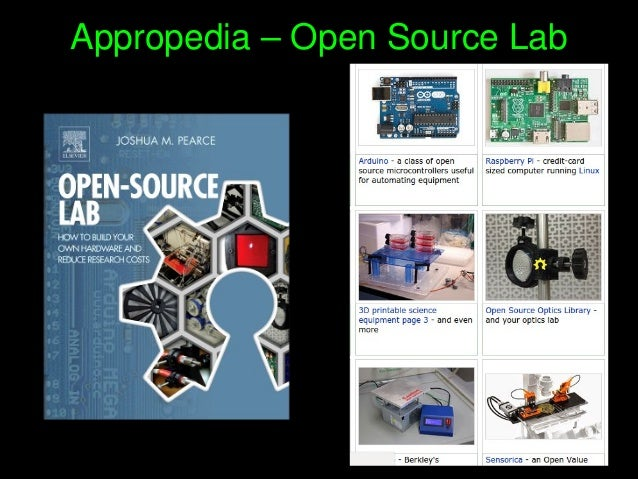 Appropedia–OpenSourceLab