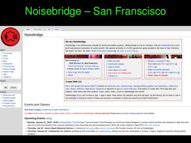 Noisebridge–SanFranscisco