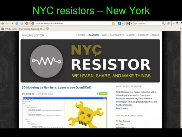 NYCresistors–NewYork