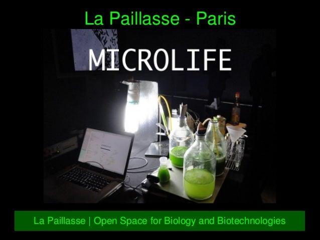 LaPaillasseParis LaPaillasse|OpenSpaceforBiologyandBiotechnologies