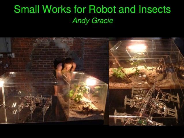 SmallWorksforRobotandInsectsSmallWorksforRobotandInsects AndyGracieAndyGracie