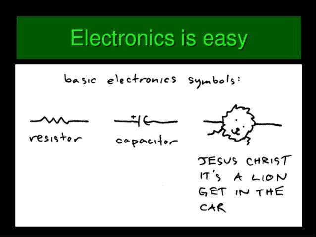 ElectronicPartsElectronicParts Basicelectronicschematicsandparts,howengineersthink...Basicelectronicschematics...