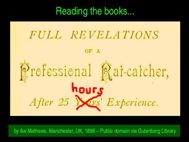 Readingthebooks... byIkeMathews,Manchester,UK,1898–PublicdomainviaGutenbergLibrary