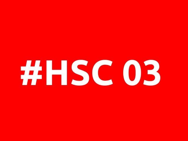 #HSC 03