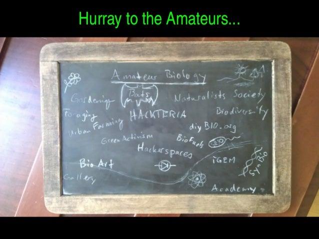 HurraytotheAmateurs...
