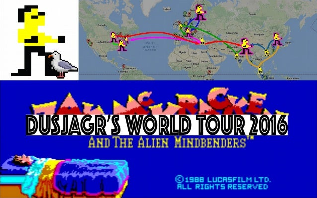 Dusjagr's World Tour 2016 - I AM ZAK
