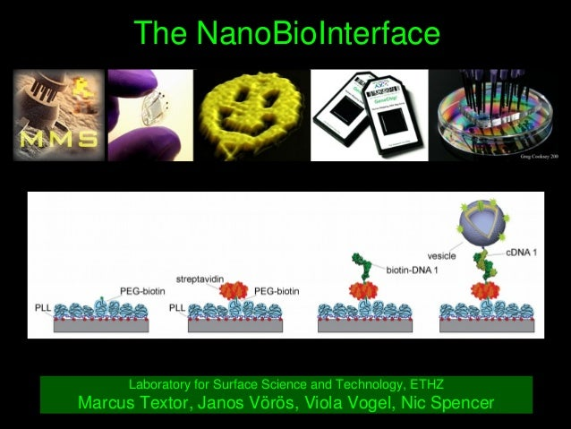 TheNanoBioInterface LaboratoryforSurfaceScienceandTechnology,ETHZ MarcusTextor,JanosVörös,ViolaVogel,Nic...