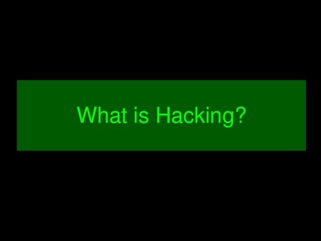 WhatisHacking?