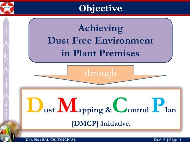 Dust Mapping And Control Plan  Dmcp ByDeepak Kumar Sahoo
