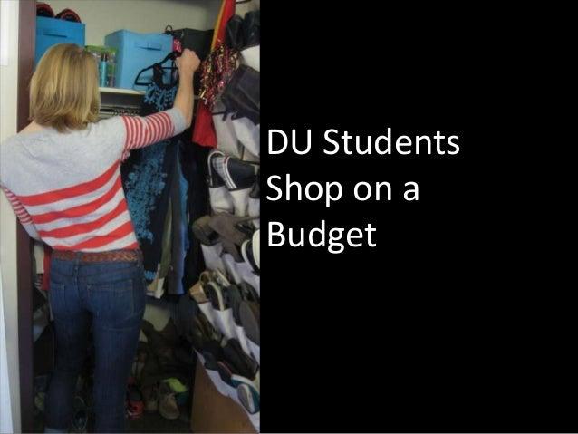 DU StudentsShop on aBudget