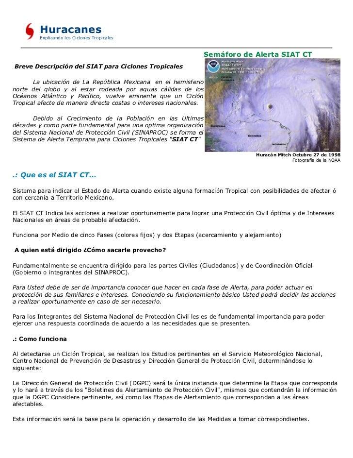 Huracanes          Explicando los Ciclones Tropicales                                                                     ...