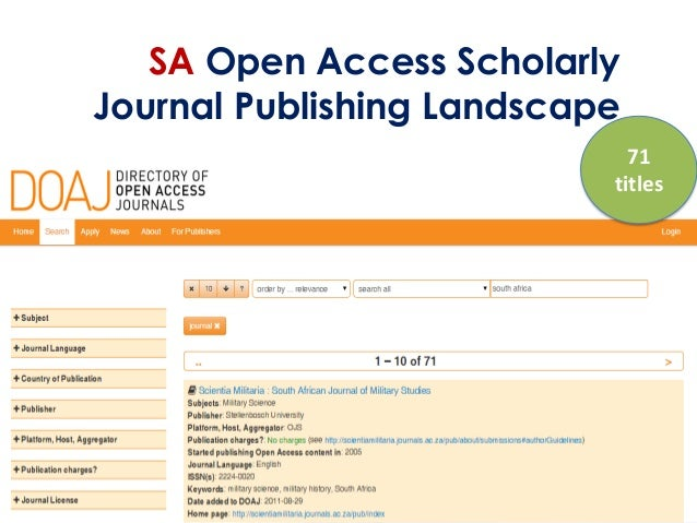 academic publishing and journal A 1995 article by john r hayes in forbes suggested that the big academic publishers of scholarly journals would be wise to heed the writing.