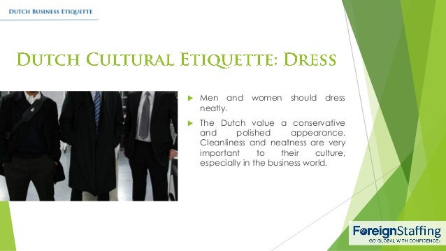 dutch business etiquette