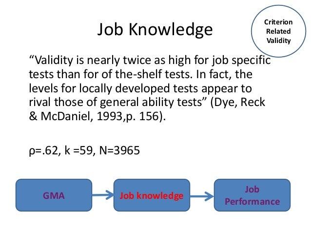 Job matchmaker test