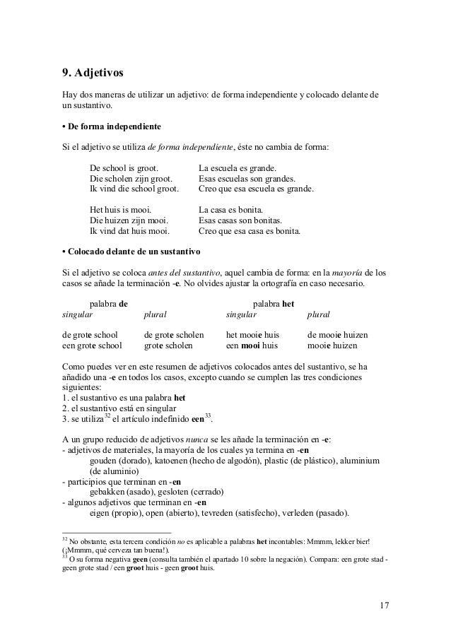Gramatica Dutch-Spanish,Español -Holandes, Nederlands-Spaans