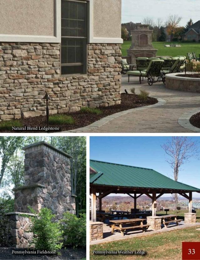 33 Natural Blend Ledgestone Pennsylvania Fieldstone Pennsylvania Weather Ledge