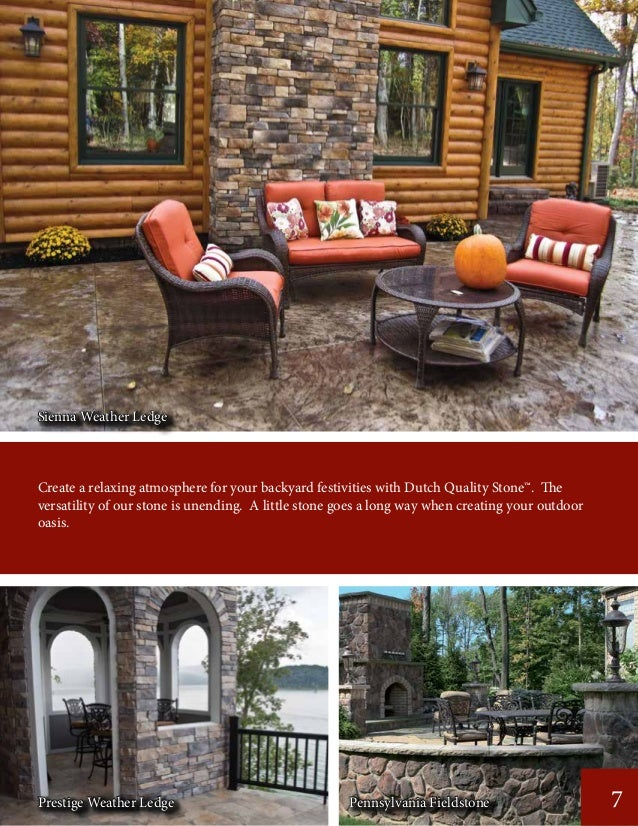 Create a relaxing atmosphere for your backyard festivities with Dutch Quality Stone™. The versatility of our stone is unen...
