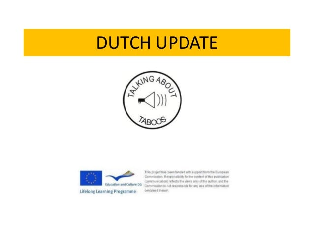 DUTCH UPDATE