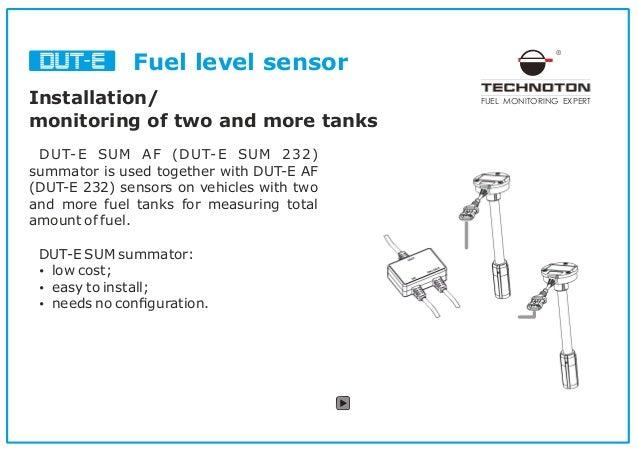 fuel level sensor for telematics integration. Black Bedroom Furniture Sets. Home Design Ideas