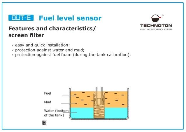 Fuel level sensor for telematics integration