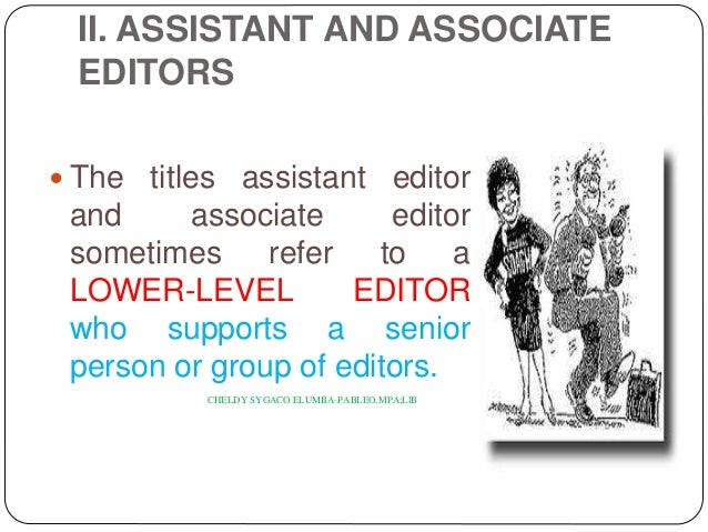 Associate Editor Job Description What Is The Job Of An Associate