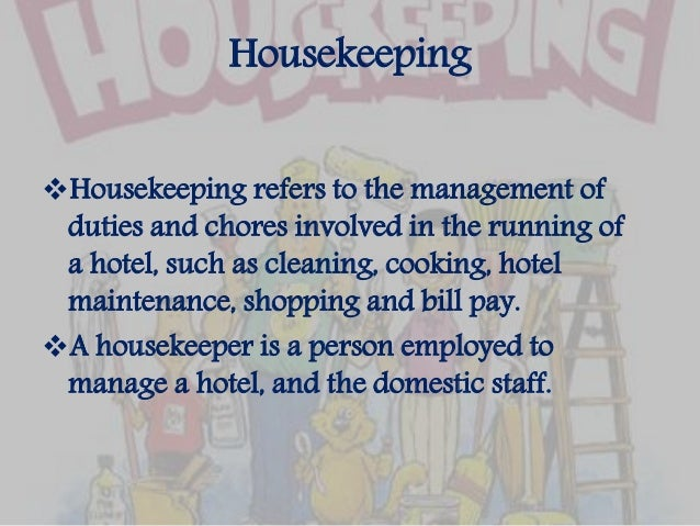 housekeeping responsibilities. Resume Example. Resume CV Cover Letter