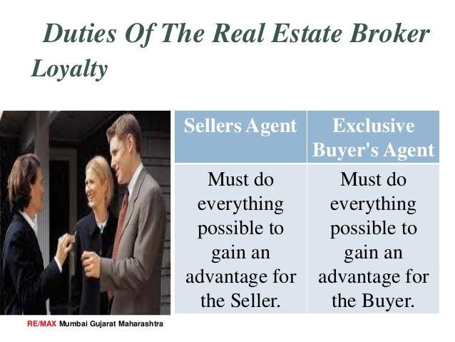 Duties and Responsibilities of Real Estate Broker - 웹