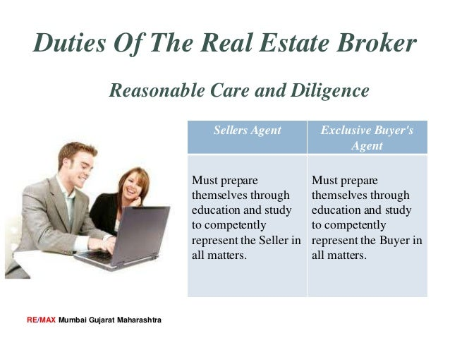 Duties And Responsibilities Of Real Estate Broker
