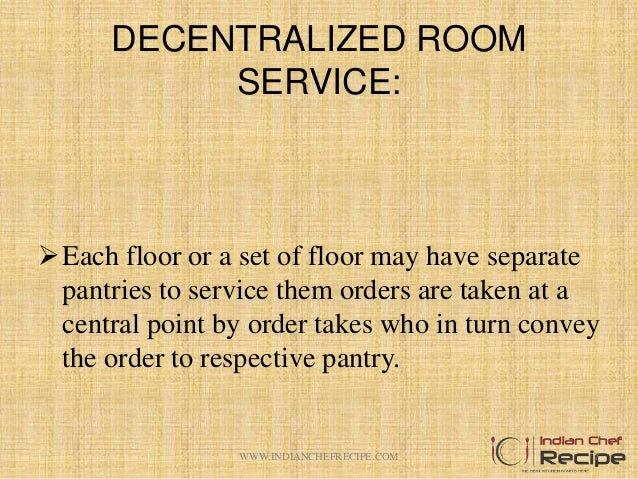 Duties And Responsibilities Of Room Service And Cashier