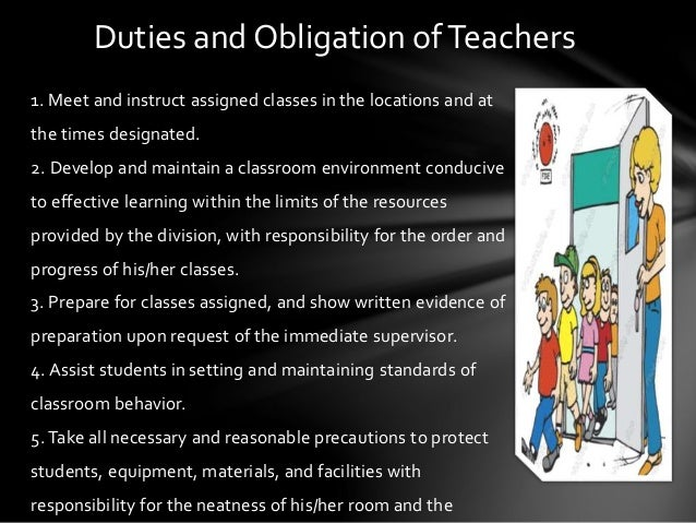 Duties and responsibility of the principal,teacher and student sppt