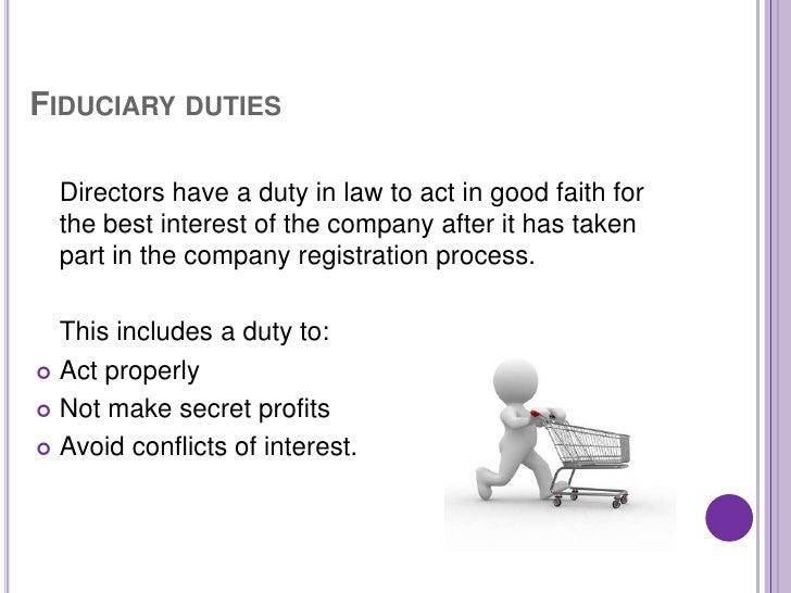 Directors' duties in the United Kingdom