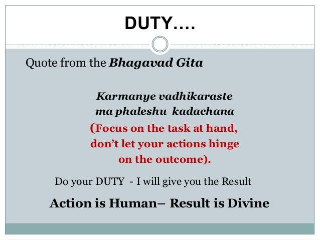 Image result for karmanye vadhikaraste ma phaleshu kadachana