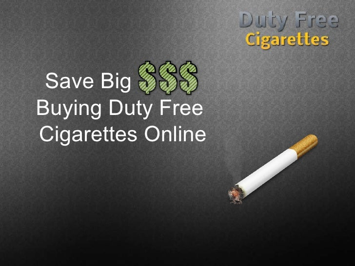 Can i buy cigarettes duty free