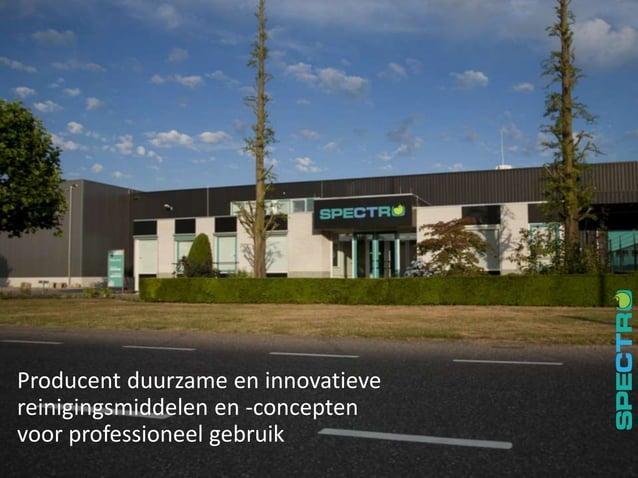 2 Producent duurzame en innovatieve reinigingsmiddelen en -concepten voor professioneel gebruik