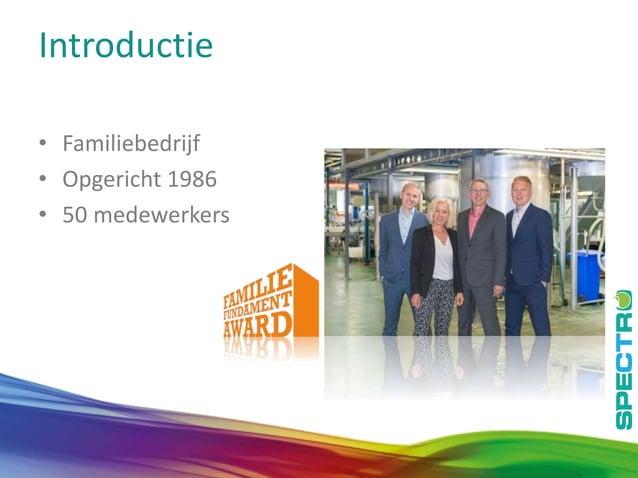 3 Introductie • Familiebedrijf • Opgericht 1986 • 50 medewerkers