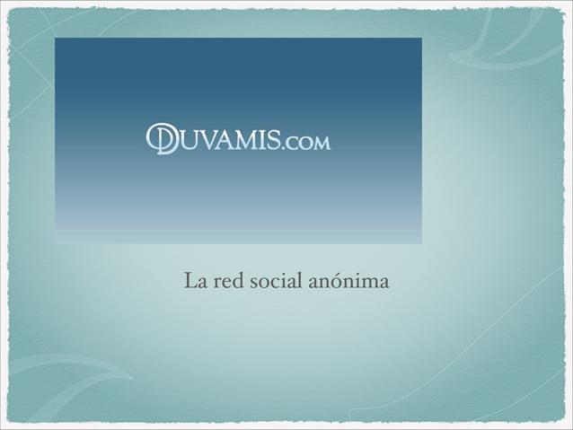 La red social anónima