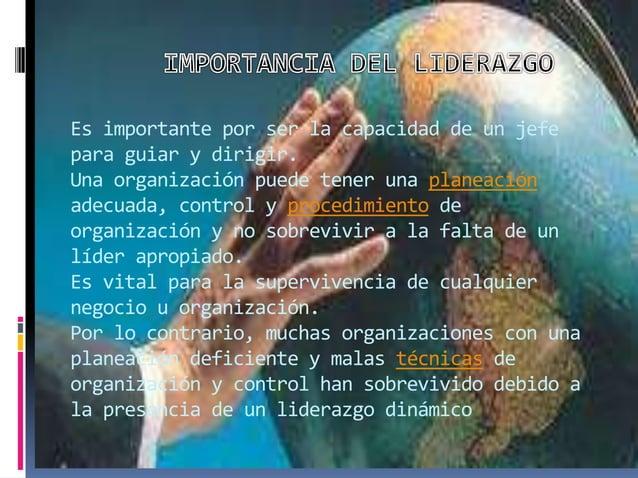 CUANDO YA LE HA SIDO ASIGNADA LA RESPONSABILIDAD DEL LIDERAZGO Y LA AUTORIDAD CORRESPONDIENTE, ES TAREA DEL LÍDER LOGRAR L...