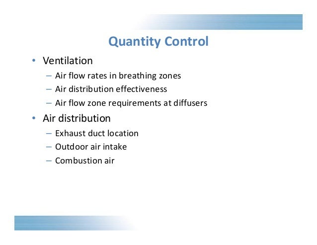 Commercial building science comfortable environments for Table 6 1 minimum ventilation rates in breathing zone