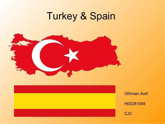 Turkey & Spain Othman Aref H00281045 CJC