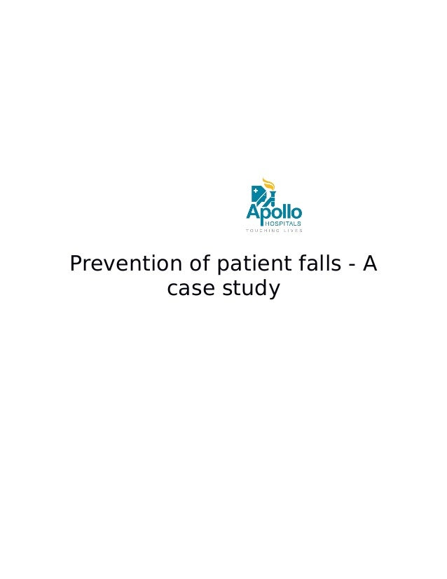 Prevention of patient falls - A case study