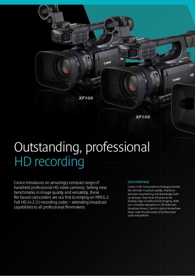Editing Canon XF105/XF100 MXF files in Final Cut Pro 7 ...