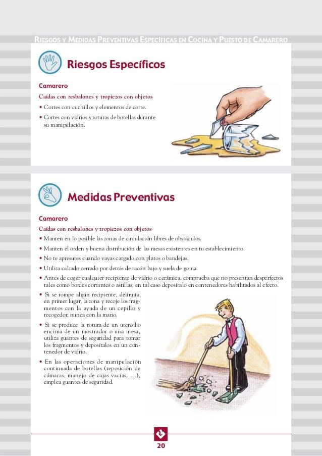 MANUAL DE SEG. Y SALUD EN COCINAS, BARES Y RESTAURANTES.